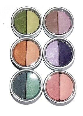Stila Eyeshadow Duo ~ Pick A Shade ~ Purple Pink Green Brown New & Boxed • 3.99£