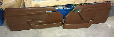 $249 • Buy MERCEDES R107 380SL 450SL SLC Right Left Door Interior Trim Panel Set Brown