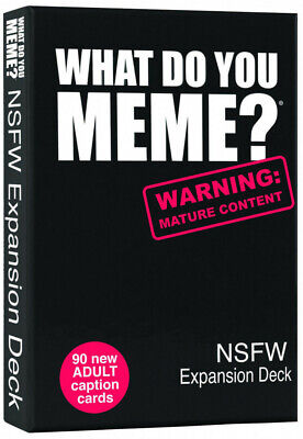 AU17.96 • Buy What Do You Meme? NSFW Expansion Deck  - Brand New