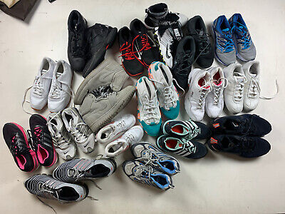 $ CDN131.14 • Buy Lot Wholesale Used Rehab Athletic Shoes Multiple All Sizes Auction 25 Lbs