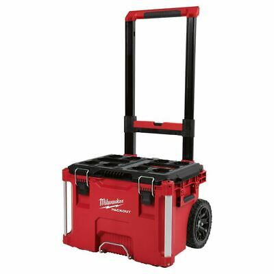 View Details Milwaukee 48-22-8426 PACKOUT 22 In. Rolling Tool Box • 123.00$