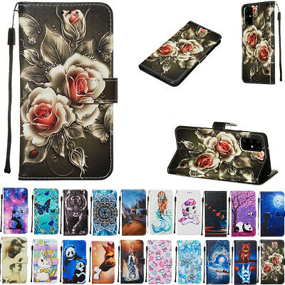 AU13.89 • Buy For Samsung Galaxy S20 FE Note 20 Ultra S10 S9 8+ Plus Wallet Leather Case Cover