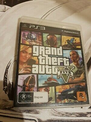 AU8 • Buy Grand Theft Auto V (Sony PlayStation 3, 2013) PS3