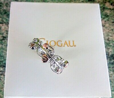 Clogau Sterling Silver & 9ct Welsh Gold Tree Of Life Ring Size P. New In Box • 90£