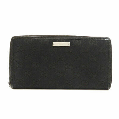 $323 • Buy GUCCI  112724 Long Wallet (with Coin Pocket) GG Canvas