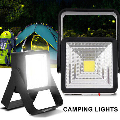 AU16.99 • Buy Solar Power+Rechargeable Camping Fishing Lights Portable Night Lights Flood Lamp