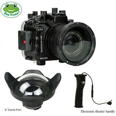 $ CDN844.88 • Buy Seafrogs 130ft Underwater Camera Housing For Sony A7III A7RIII +Dome Port + Grip