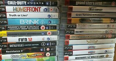 Sony PlayStation 3 PS3 Updated Regularly Multi-listing • 3.40£