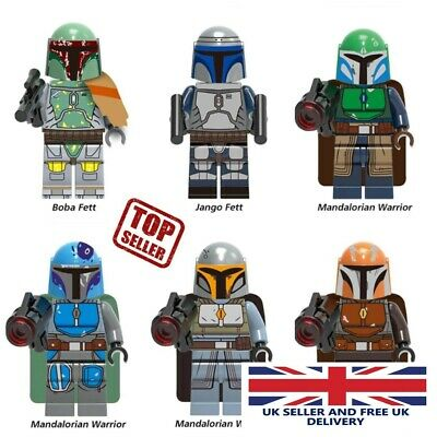 Mandalorian Star Wars Mini-figures. Lego Compatible - NEW - Posted From U.K. • 7.99£