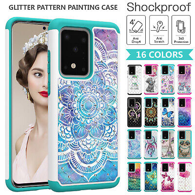 AU14.85 • Buy For Samsung Galaxy S20 Ultra S10 S10e S9 S8 Plus Case Heavy Duty Pattern Cover