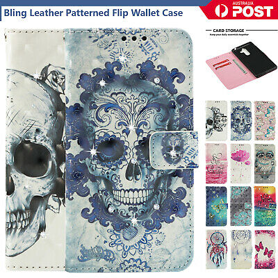 AU14.98 • Buy For Sony Xperia XZ XZ1 XZ2 XZ3 Premium Case Leather Wallet Patterned Case Cover
