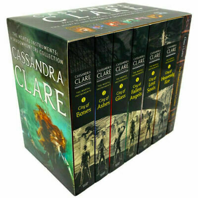Cassandra Clare The Mortal Instruments A Shadowhunters 7 Books Collection Set • 19.99£