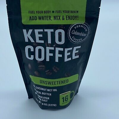 $22 • Buy Keto Coffee With Real Butter, MCT Oil, And Himalayan Pink Salt (Unsweetened)