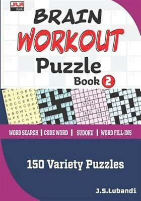 $11.73 • Buy Brain Workout Puzzle Book 2, Like New Used, Free Shipping In The US