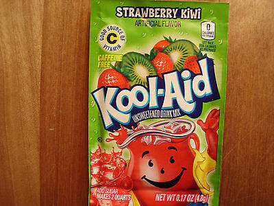 14 Kool Aid Drink Mix ** STRAWBERRY KIWI  Popsicle Flavor Summer Pool Party NEW! • 4.11£