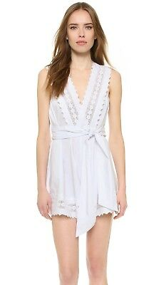 AU79.95 • Buy Alice Mccall Dancing On My Own Playsuit White Size 12