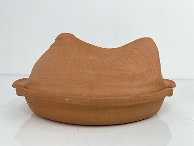Hen Chicken Shaped Terracotta Egg Storage Holder, Farmhouse Style MY115 • 14.99£