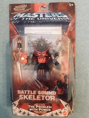$24.90 • Buy Masters Of The Universe Battle Sound Skeletor Figure 2001 VHS In Box Sealed NIB