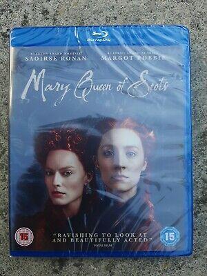 Mary Queen Of Scots [Blu-ray] New & Sealed • 5£