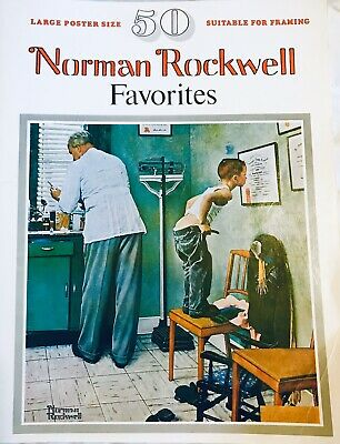 $ CDN16.86 • Buy 1977 Norman Rockwell - 50 Favorites -Poster Size Framing Book