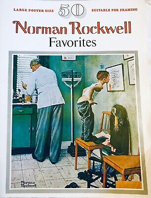 $ CDN19.76 • Buy 1977 Norman Rockwell 50 Favorites -Poster Size (Suitable For Framing)