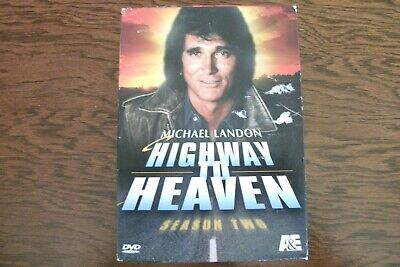Highway To Heaven - Series 2 - Complete (DVD, 6-Disc Box Set) . FREE UK P+P .... • 7.29£