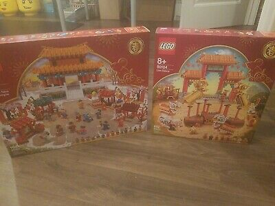 $450 • Buy Lego Chinese New Year 80104 And 80105 MNIB