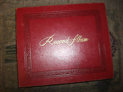 $10 • Buy Vintage Record Holder Album Case 14-45 Records Included