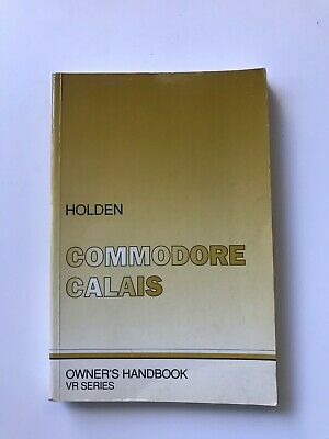AU49 • Buy Holden Commodore VR SS HSV Owners Book