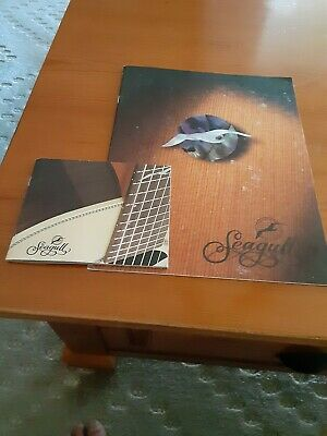 $7.50 • Buy Guitar Catalogs- Seagull,  1sm, 1lg + Player + Artist Sheets.