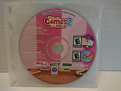 Ultimate Games For Girls 2 (PC, 2005)¦¦Disc Only • 2.50£