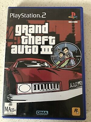 AU7.90 • Buy Grand Theft Auto III - 3 - PS2 - Playstation 2