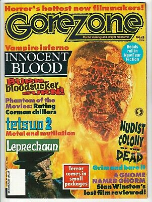 $2 • Buy Gorezone #24 Winter 1993 Fine- 5.5 O'quinn Studios Pubs - Includes Giant Posters