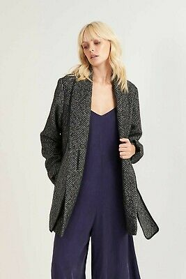 AU107.99 • Buy Bnwt Tigerlily Ladies Aiko Jacket Coat Size Small (char) Rrp $499.99 Bargain
