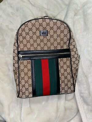 AU400 • Buy New With Tags 100% Authentic Gucci Backpack Bookbag Bag Magnetismo Large
