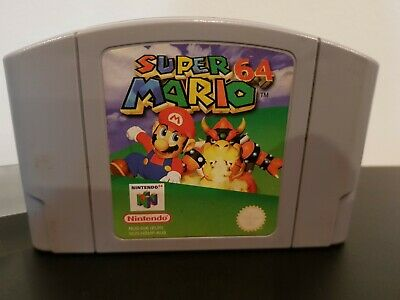 AU46 • Buy Super Mario 64 For Nintendo 64 N64 - PAL Cartridge Only + Protector - Tested