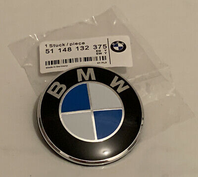 AU19.90 • Buy Bmw 82mm Bonnet Hood Badge Emblem Brand New E30 E36 E46 E90 E92 E93 M3 E53 E70