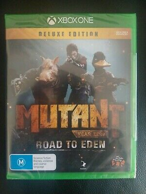 AU60 • Buy New Mutant Year Zero Road To Eden Deluxe Edition Xbox One Game