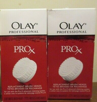 AU28.49 • Buy 2 Packs Of 2 Brush Heads - Olay ProX Replacement Brush Heads Anti Aging
