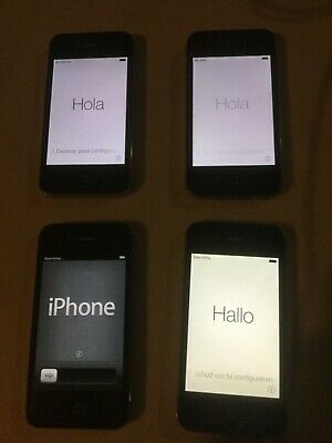 $ CDN216.54 • Buy Lot Of 4 Apple Iphone 4/4S - A1387, A1332 Smartphones