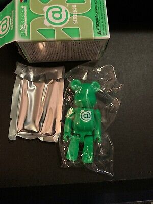 $9.99 • Buy Medicom Bearbrick S38 Be@rbrick 100% Green @ BRAND NEW UNOPENED W BOX!!!!!!!!!