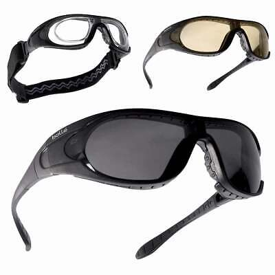 £51.50 • Buy BOLLE RAIDER Glasses Ballistic Safety Military Army Tactical Airsoft 3 Lens Kit