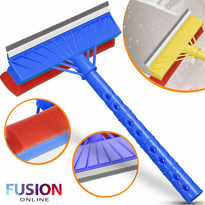 Window Cleaner 2 In 1 Wiper Professional Squeegee Car Glass Shower Screen Tile  • 4.99£