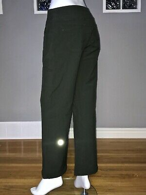 $ CDN62.40 • Buy Lululemon Carry Less Carry More Pant 6 8 Green Trouser Pant Euc