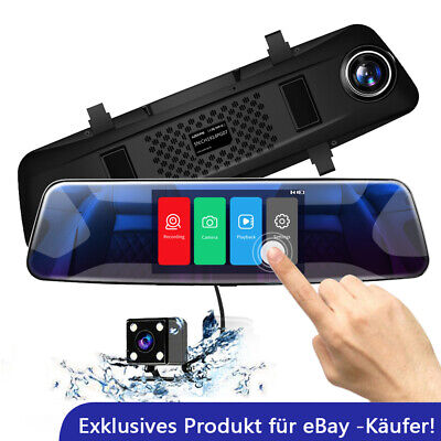 AU27.99 • Buy AZDOME 4.3'' Dual Lens Car Dash Cam Recorder Touching Front And Rear Car Camera