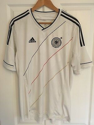 2012/2013 Germany Home Football Shirt Large Men's Adidas Retro World Cup • 13.49£
