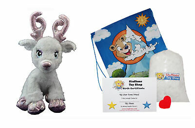 $17.99 • Buy Make Your Own Stuffed Animal Sparkles The Reindeer Kit 16 - No Sew - Kit With Cu