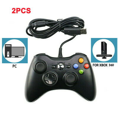 AU24.64 • Buy 🔥AU Wired Controller For Microsoft XBOX 360 Game Gamepad Joystick PC Windows
