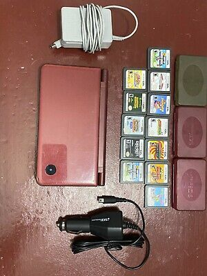 $31 • Buy Nintendo DSi XL 256MB Burgundy Handheld System. With 12 Classic Games!With Stor-