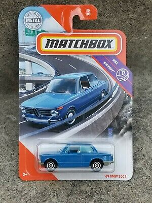 $9.99 • Buy Matchbox 1969 69 BMW 2002 Blue MBX HIGHWAY 50/100 💥1:64 Scale 🔥